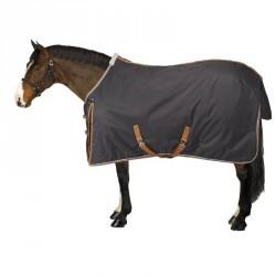 Couverture écurie équitation poney cheval INDOOR 200 gris foncé