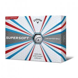 Callaway Supersoft Doré Boules Taille Unique Blanc