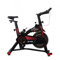 CARE Vélo d'Appartement Spinning SP 490 - Roue inertie - 14 kg