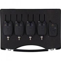 COFFRET DETECTEURS + CENTRALE CARP SPIRIT XTE + XTRE4 détecteurs + 1 centrale0