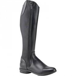 Bottes cuir équitation adulte LB 560 noir
