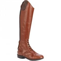 Bottes cuir équitation adulte LB 900 marron