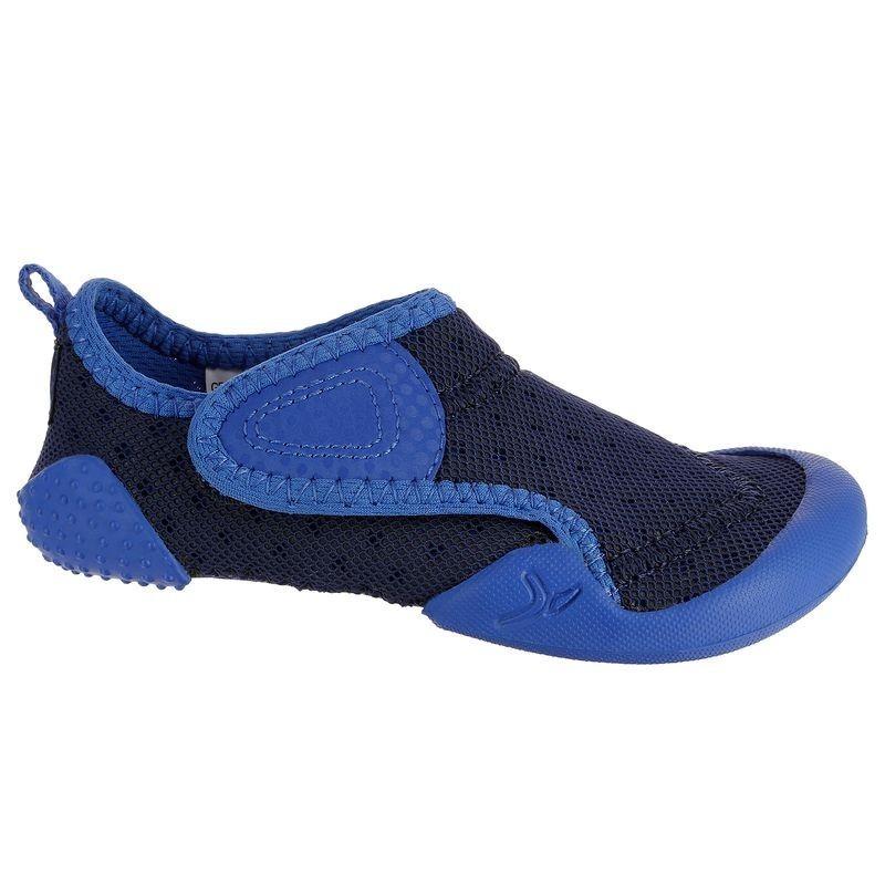 Chaussons Bébé Gym BABYLIGHT  bleu