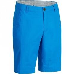 Bermuda de golf homme 500 temps chaud bleu