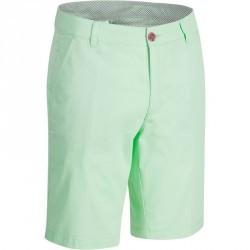 Bermuda de golf homme 500 temps chaud vert
