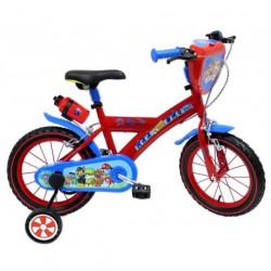 PAT PATROUILLE Vélo 14''- Rouge et bleu - Enfant