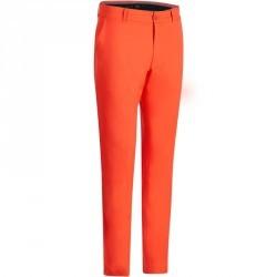 Pantalon de golf homme 900 temps chaud rouge