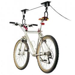 Support de levage pour vélo de toit, crochets de fixation, jusqu'à 20 kg