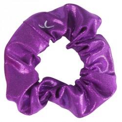 Chouchou paillette Gym Fille (GAF et GR) Violet