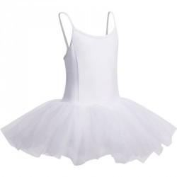 Tutu de danse classique fille GALA blanc.