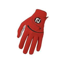 Foot Joy Footjoy FJ Spectrum - Gants de golf pour la main gauche Composite Couleur: Rouge Taille: L - 60037L