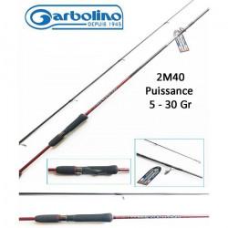 Canne à pêche Leurre Garbolino Red Lure Evolution 2M40 5-30gr