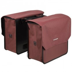 SACOCHE DOUBLE 520 2X20L ROUGE BORDEAUX