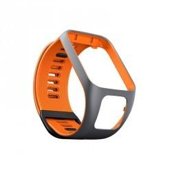 Bracelet de rechange pour Runner 2 / 3 et Golfer 2 gris/orange (taille L)
