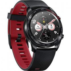 HONOR Watch Magic avec écran couleur AMOLED, surveillance de la fréquence cardiaque, étanche 5ATM et compatible NFC, noir de