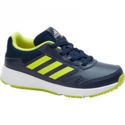 Chaussures marche sportive enfant Fastwalk lacets bleu / jaune