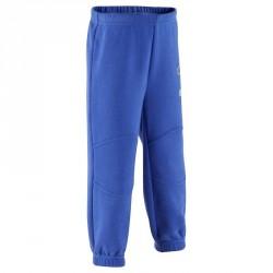 Pantalon molleton baby bleu foncé