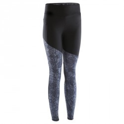 COLLANT JOGGING FEMME RUN WARM+ NOIR GRIS
