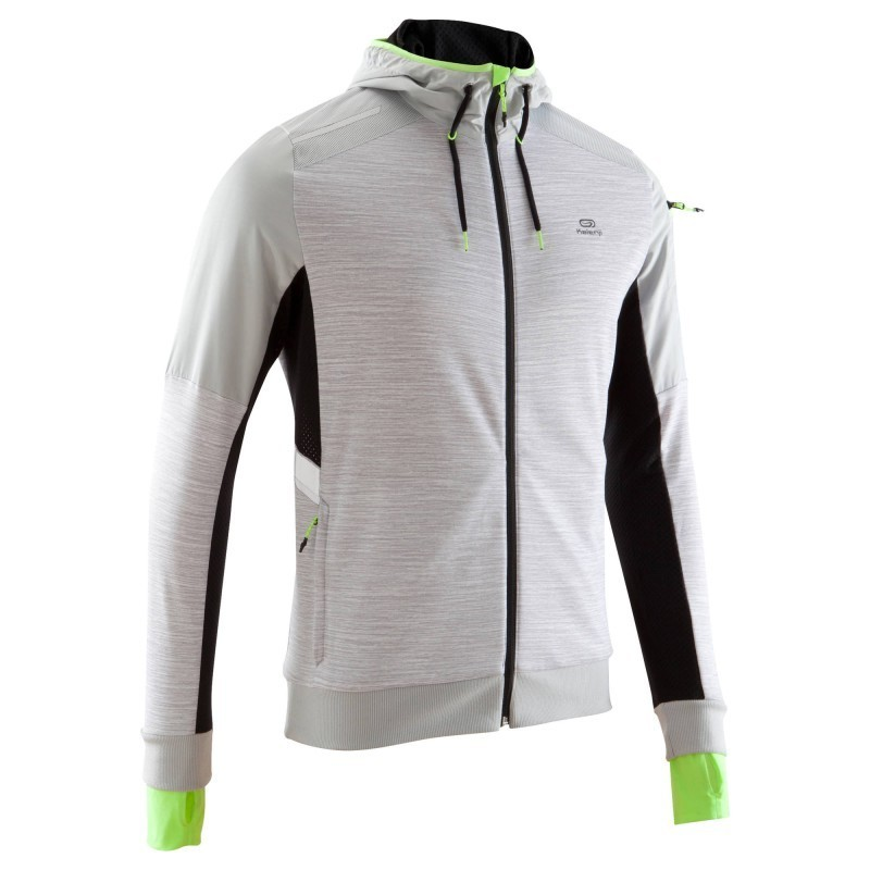 pretty nice recognized brands stable quality VESTE RUNNING HOMME RUN WARM+ N BLANC - avis / test