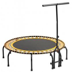 Kangui - Mini trampoline FITNESS FitBodi Ø120 - Qualité Pro - Certifié par le CRITT