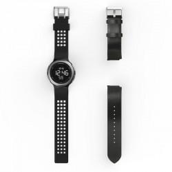 Montre sport homme W900 M SWIP timer pack 2 bracelets (cuir et plastique)