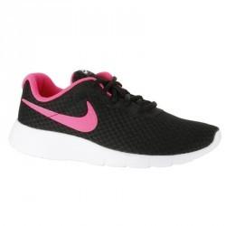 Chaussures marche sportive enfant Tanjun noir / rose
