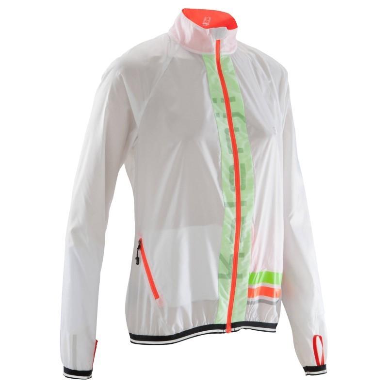 taille 40 c4582 4a341 Veste Wind Kalenji Kiprun Running Femme Avis Blanche Test lcFK1J