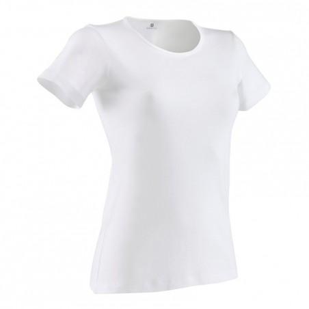 T-shirt Gym & Pilates  Sportee femme blanc