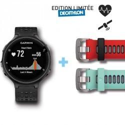 Montre GPS avec cardio poignet Forerunner 235 HRM noire grise (édition limitée)