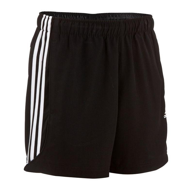 Short fitness homme noir