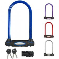 MASTER LOCK Antivol Vélo U [A Clé] - Idéal pour les Vélos, Vélos Electriques, VTT et autres