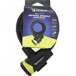 Antivol spiral D10x1800mm +support
