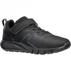 Chaussures marche sportive enfant Soft 140 full noir