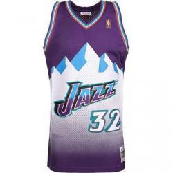 Camiseta Mitchell & Ness Utah Jazz      T:S