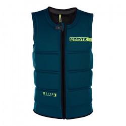 Gilet impact vest wakeboard MYSTIC Star front zip 695 Teal XXS