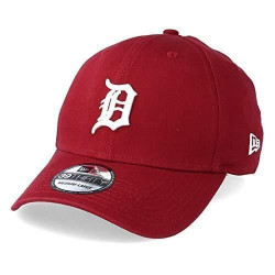Casquette 39THIRTY Washed Detroit Tigers cardinal NEW ERA - Small/Medium