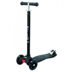 Trottinette enfant 3 roues Micro maxi noire t-bar