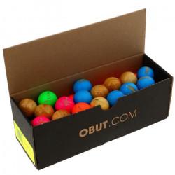 Accessoire pétanque Lot de 59 buts buis - Obut UNI Divers Ou Multicolor