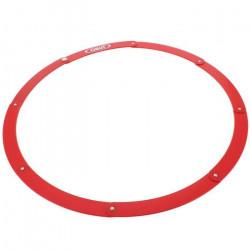 Accessoire pétanque Cercle petanque pliant rouge - Obut UNI Rouge