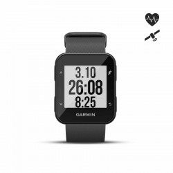 Montre GPS Forerunner 30 avec cardio au poignet noire