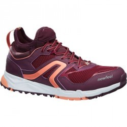 Chaussures marche nordique femme NW500 prune