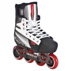 Roller hockey junior XLR 3 REGLABLE gris clair