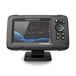 LOWRANCE Hook Reveal 5- Combiné GPS sondeur - Sonde HDI 50/200
