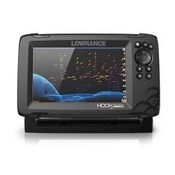 LOWRANCE Hook Reveal 7- Combiné GPS sondeur - Sonde HDI 50/200