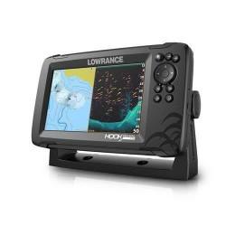 LOWRANCE Hook Reveal 7- Combiné GPS sondeur - Sonde Tripleshot