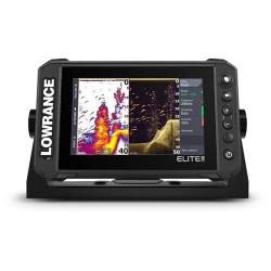 LOWRANC Elite FS 7- Combiné GPS sondeur - Sonde HDI