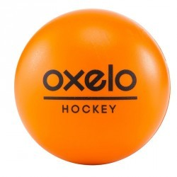BALLE DE HOCKEY MOUSSE orange