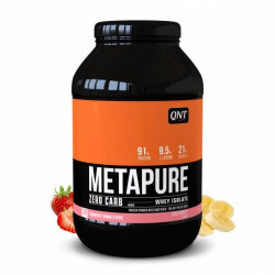 Metapure Whey Protein Isolate Fraise Banane 908 g