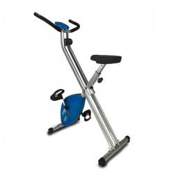 FYTTER Vélo statique ultra-pliable RA-0XB avec 3 kg de roue d'inertie et 6 fonctions. Écran LCD avec contrôle du rythme card