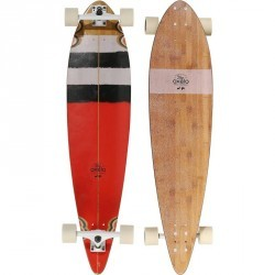 Longboard Pintail Surf rouge